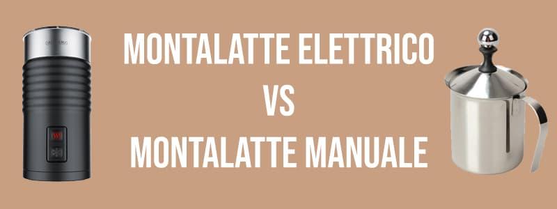 Montalatte elettrico montalatte manuale