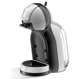 Macchina per caffè in capsule bianca Nescafè Dolce Gusto by Krups Mini Me su sfondo bianco